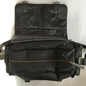Coach Black Signature Travel/Duffel Bag, EUC
